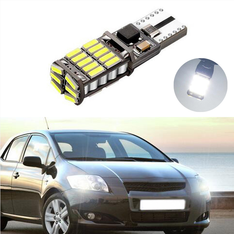 1X T10 LED W5W Car Clearance Light For <font><b>Toyota</b></font> Corolla Avensis Yaris <font><b>Rav4</b></font> Hilux Prius Camry 40 Celica Supra Prado Verso image