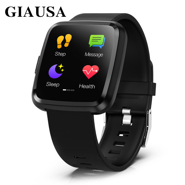 GIAUSA PRO Smart watch Full screen touch IP67 waterproof Bluetooth Sport fitness tracker Men Smartwatch For IOS Android PhoneGIAUSA PRO Smart watch Full screen touch IP67 waterproof Bluetooth Sport fitness tracker Men Smartwatch For IOS Android Phone