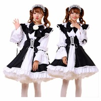 Shanghai Story Plus Size Lolita Dress Maid Cosplay Costume Fantasia Carnival Costumes For Women Girl Lolita Cosplay Clothing Set