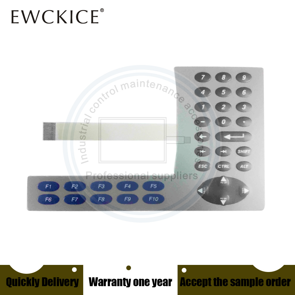 NEW PanelView Plus 600 2711P-B6C1A 2711P-B6C1D 2711P-K6M20A 2711P-K6M20D HMI PLC Membrane Switch Keypad Keyboard
