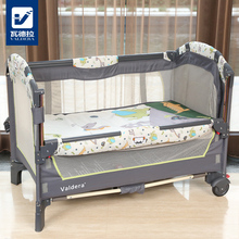 2018  Baby Bed Kids Cribs For Twins Babies Valdera Eu Multifunctional Folding Baby Bed Brand Game