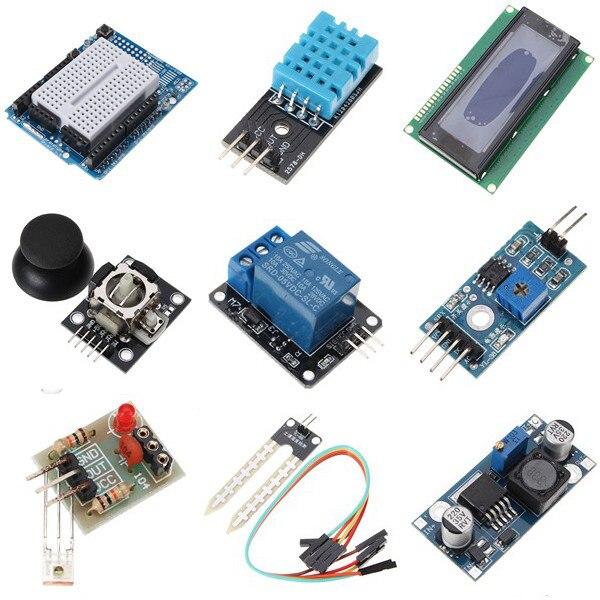UNO Mega pour Nano capteur relais bluetooth Wifi LCD Kit de démarrage débutant pour Arduino - 4