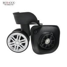 Замена камера колеса для чемоданов ремонт ручной Spinner колесиках части тележки Замена резины A08-JYMZL