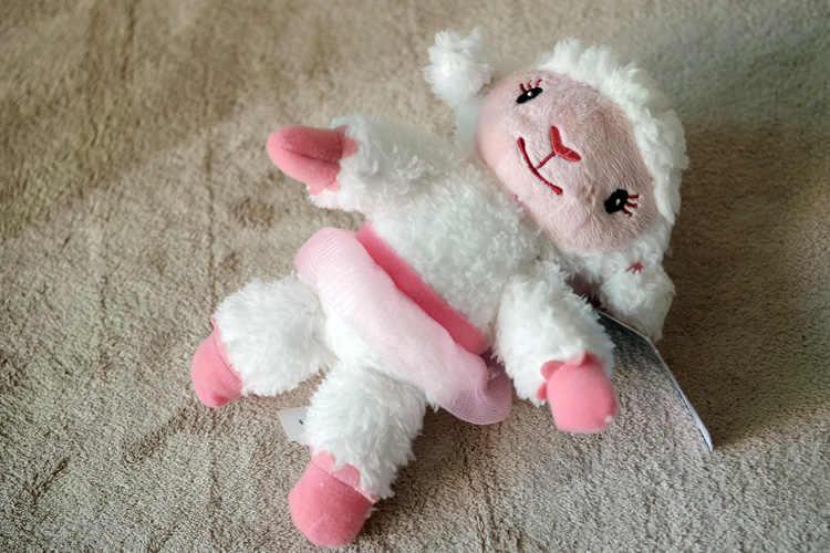NEW DISNEY Doc McStuffins Friends Plush Lambie Stuffed Toy 30cm