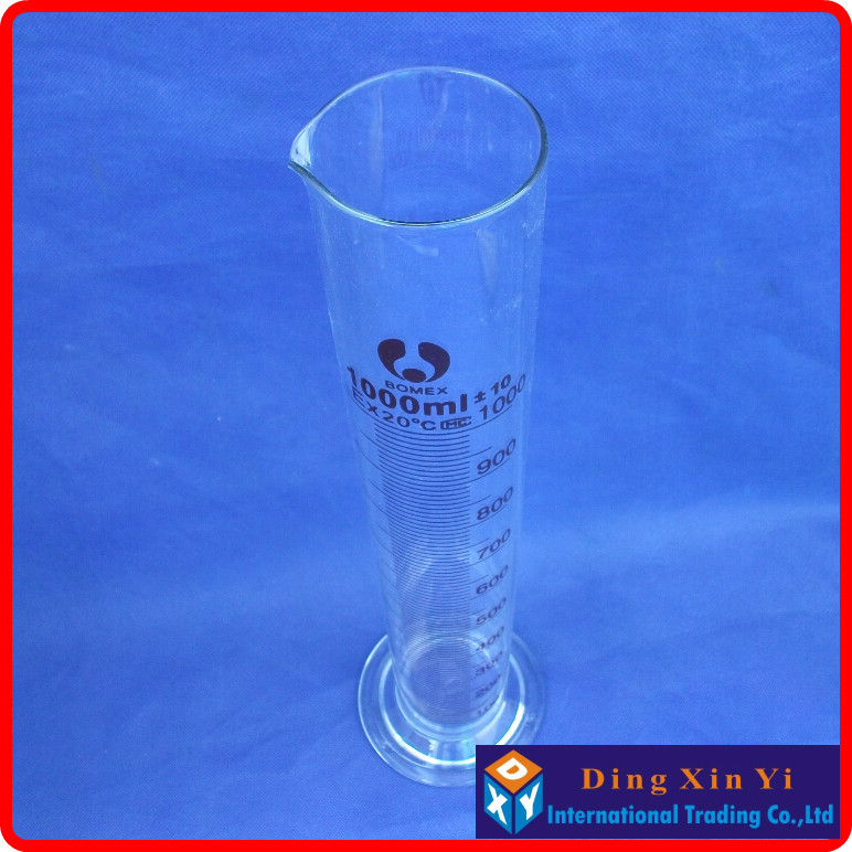 Cilindro de Laboratório 1000 ml de vidro cilindro Classificação : Cilindro de Laboratório