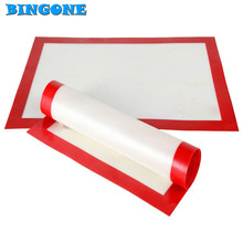1PCS 40*60cm Large Size Big Silicone Mats Baking Liner Best Oven Mat Dough Mats Heat Insulation Pad Bakeware Kid Table Mat