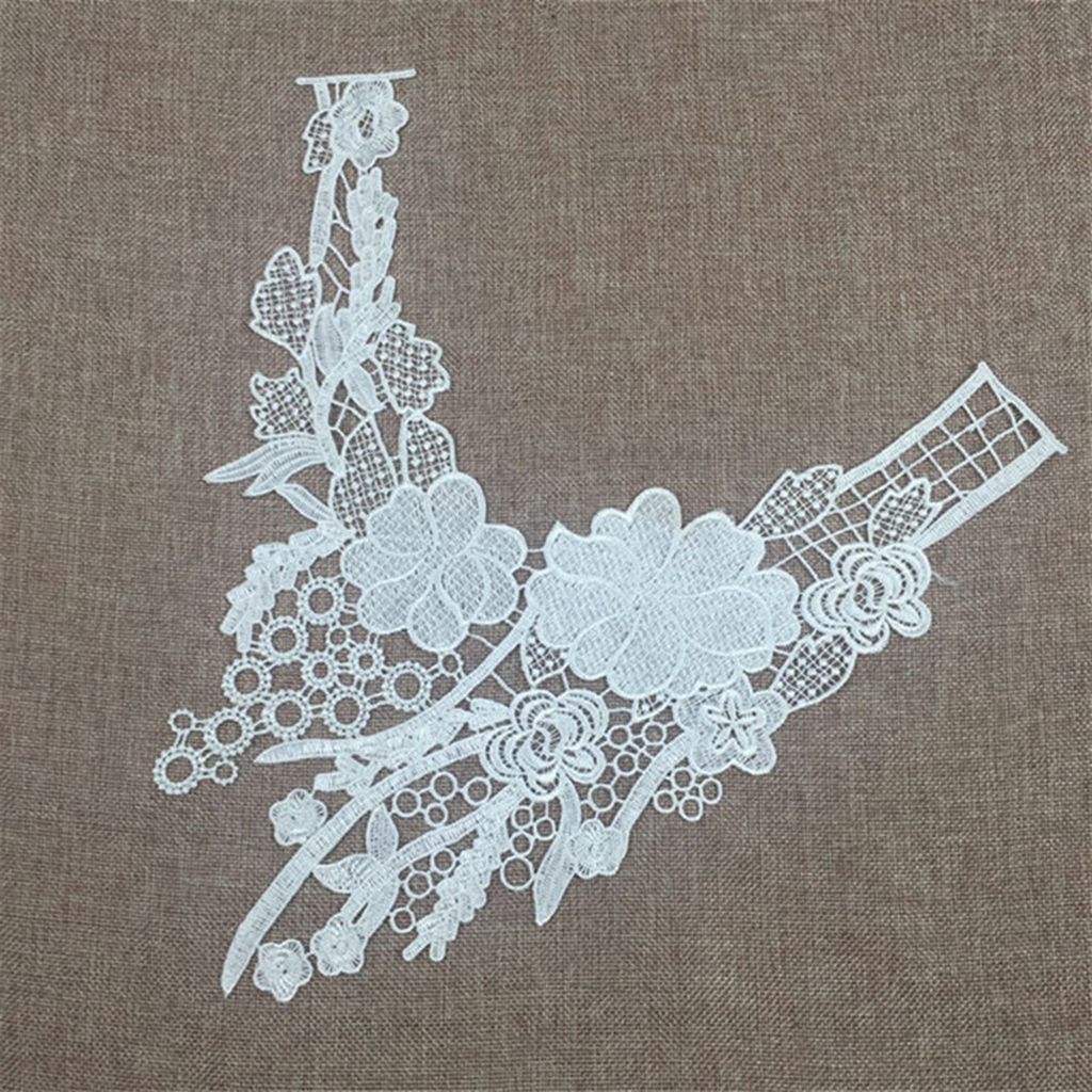 New Hot Lace Embroidered Neckline Collar Garment Sewing Accessory ...