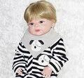 55 cm Nuevo Cuerpo Completo de Silicona Muñeca bebé Reborn Juguetes bonecas bebe recién nacido Baby Doll para niñas juguetes de regalo Brinquedos
