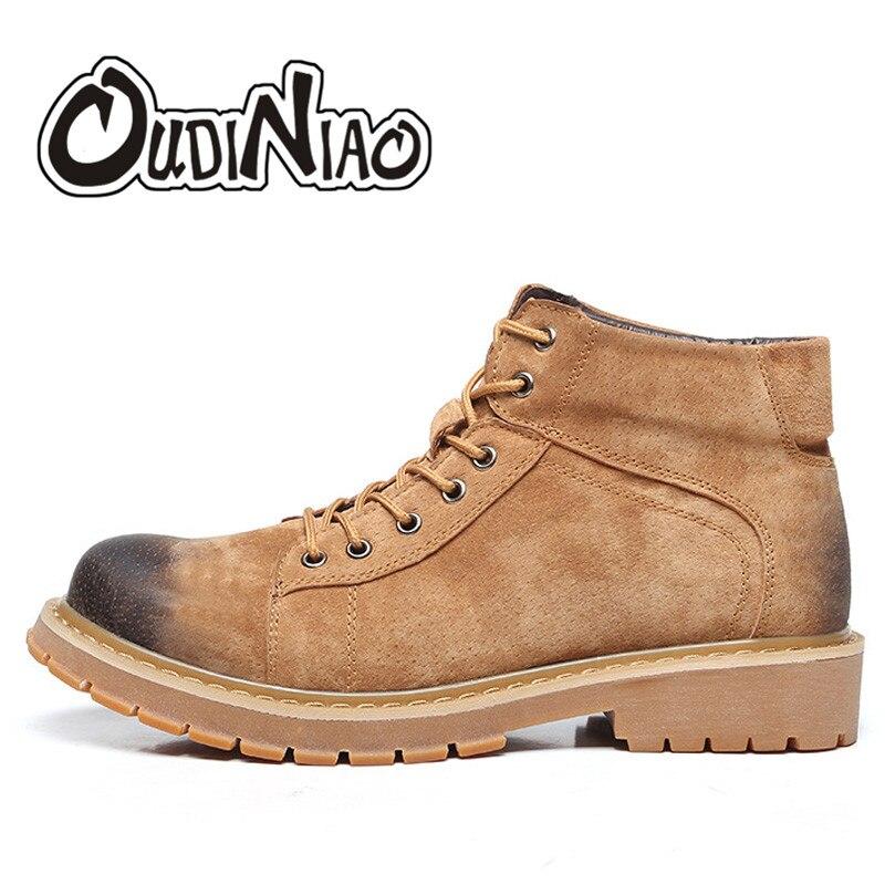 Men font b Boots b font High Quality Male Martin font b Cowboy b font Pig