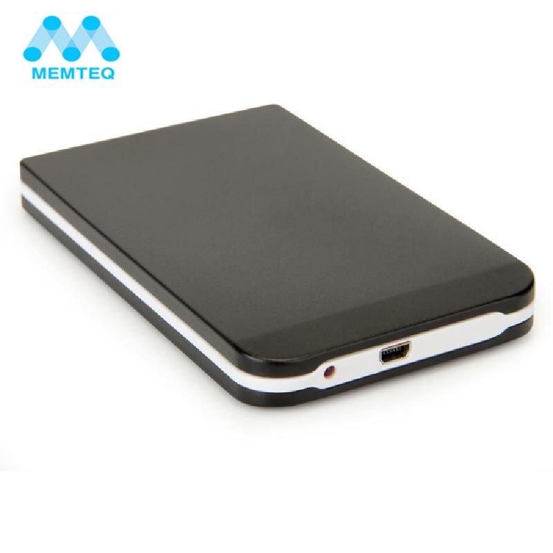 MEMTEQ USB 3.0 Hard Drive External Enclosure Case 2.5 inch SATA HDD Enclosure ABS Box For Hard Drive Disk Optional