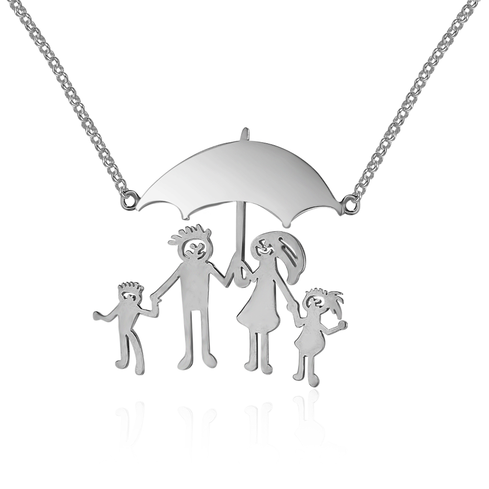 Personalized 925 Sterling Silver Hand Painted Necklace Customized Pendant Necklace Women Fine Jewelry (NE101687) 925 sterling silver jewelry to create personalized evil sheep silver vintage pendant pendant necklace