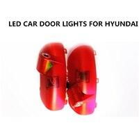 Free Shipping 2015 New 2PCS CREE LED Car Welcome Light LED Warning Light Original Plug And