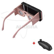 VR 2016 3D Movie Glasses VR BOX II 2.0 Smartphone Compatible Device+Bluetooth Remote Controller 3D Glasses for 5.5 Smartphone
