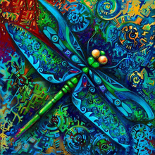 dragonfly diamond Embroidery diy painting mosaic diamant 3d cross stitch pictures H687