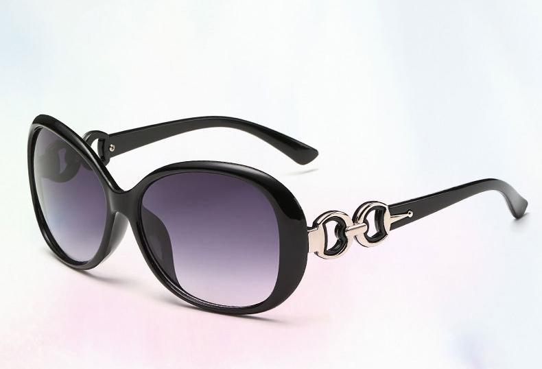 DIGUYAO Mulheres Clássico de grandes dimensões Do Vintage óculos de sol lente Gradiente .