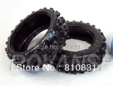ФОТО The second generation off-road cover tires for front wheels of 23cc,26cc,29cc,305cc 5b bajas Not contain the blue inner tires