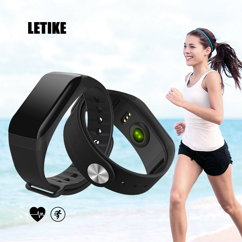 LETIKE Smart Bracelet Sport Pedometer Fitness Tracker Sleep Monitor Wristband Bluetooth 4.0 Wterproot Smartband For IOS Android