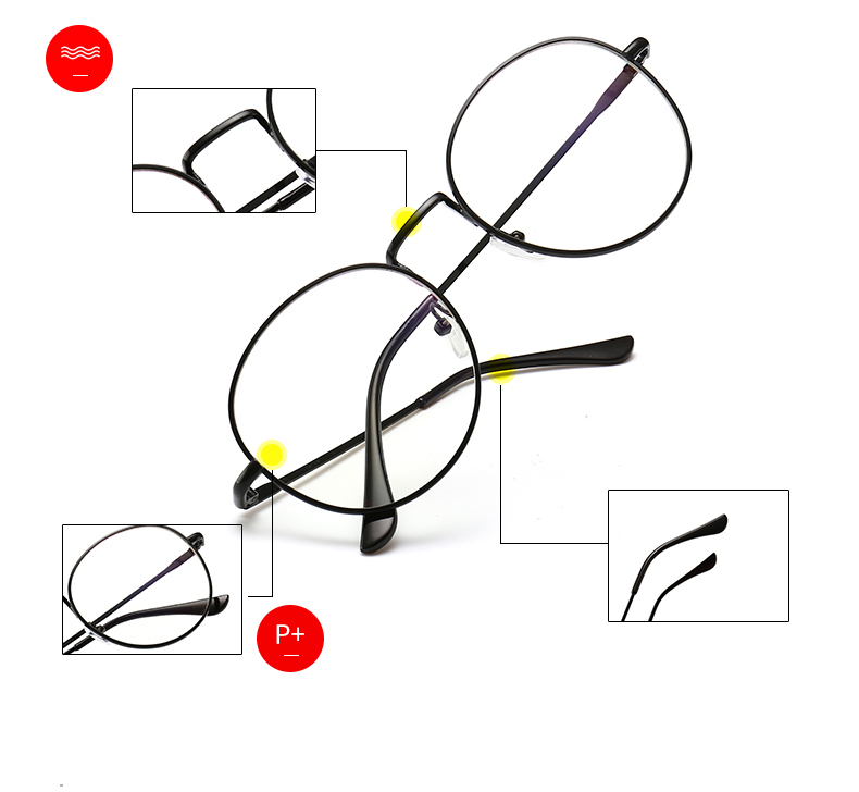 Computer Glasses Round frame