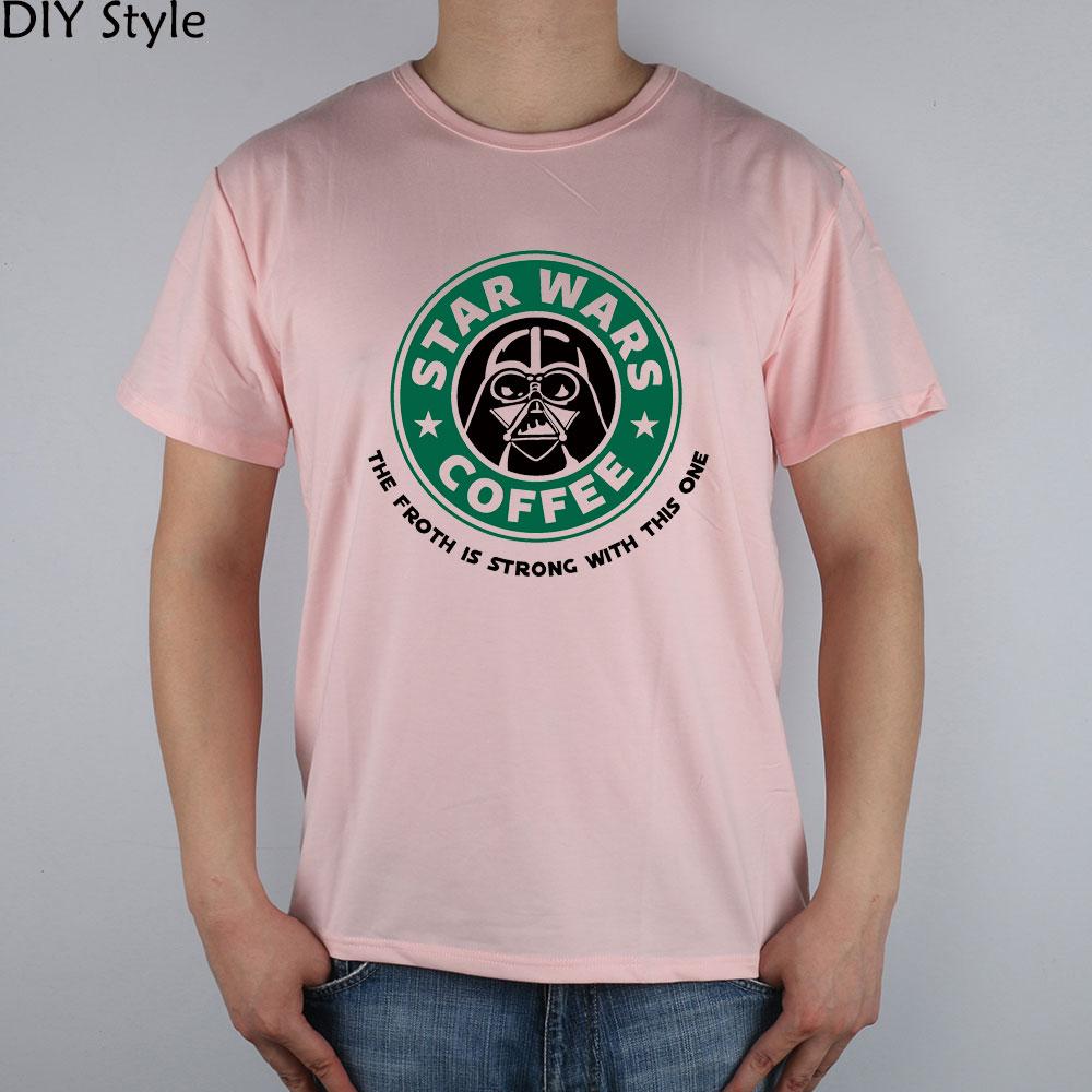 STAR WARS COFFEE la fuerza es fuerte con esta camiseta de manga corta - Ropa de hombre - foto 5