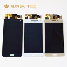 Регулируемый для Samsung Galaxy A5 2015 ЖК-дисплей Экран A500 A500F ЖК-дисплей A500FU ЖК-дисплей A500M A500Y A500FQ ЖК-дисплей Дисплей Сенсорный экран сборки