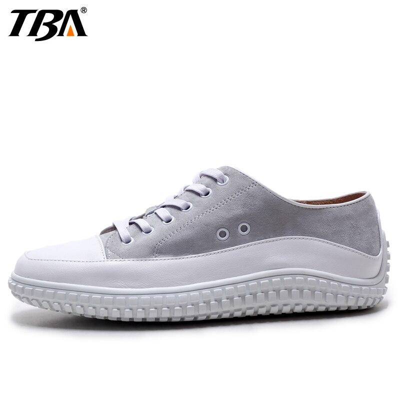 Prix pour TBA Mixte Couleur Planche À Roulettes Chaussures Pour Femmes En Cuir Véritable Femmes Sneakers Été Respirant Loisirs Sport Chaussures de Marque