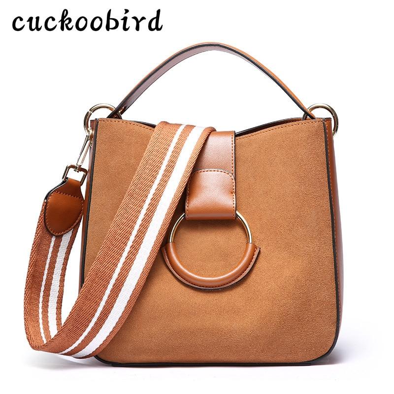 Ведро Для женщин сумка Дамы бренд Пояса из натуральной кожи Сумки Новинка 2018 модные весенние Повседневное сумка большая Сумки на плечо для …