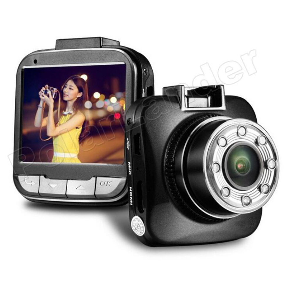 170 degree wide viewing angle Novatek 96650 G55 DVR Car Camera Recorder Car Detector Video Recorder 2 inch LCD screen