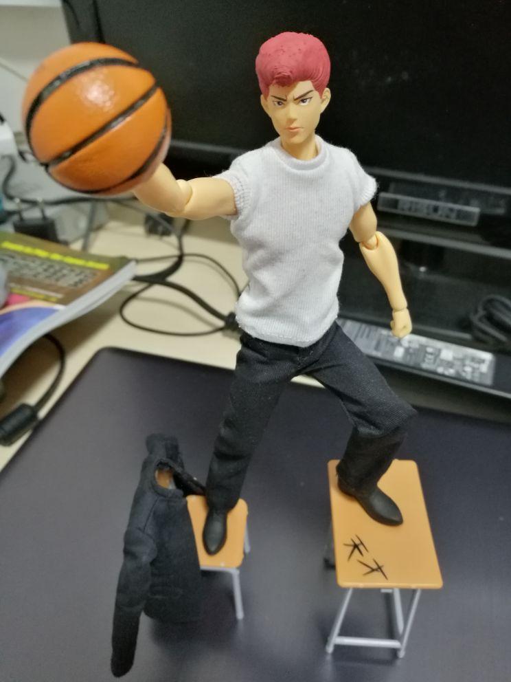 DT DreamToys 6 inch action figure Slam Dunk Hanamichi Sakuragi model Mufti Ver.