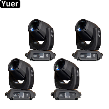 4Pcs/Lot Professional 132W 2R LED Moving Head Lights LED Disco Light Spot Bead Wash 3in1 Moving head Stage Light For DJ Party new stage light 260w led spot zoom moving head light 6 18 dmx channels beam spot wash 3in1 led strong light for party disco dj