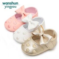 Bebes couro do plutônio do bebê da menina do menino mocassins sapatos arco franja sola macia não-deslizamento calçados berço sapatos