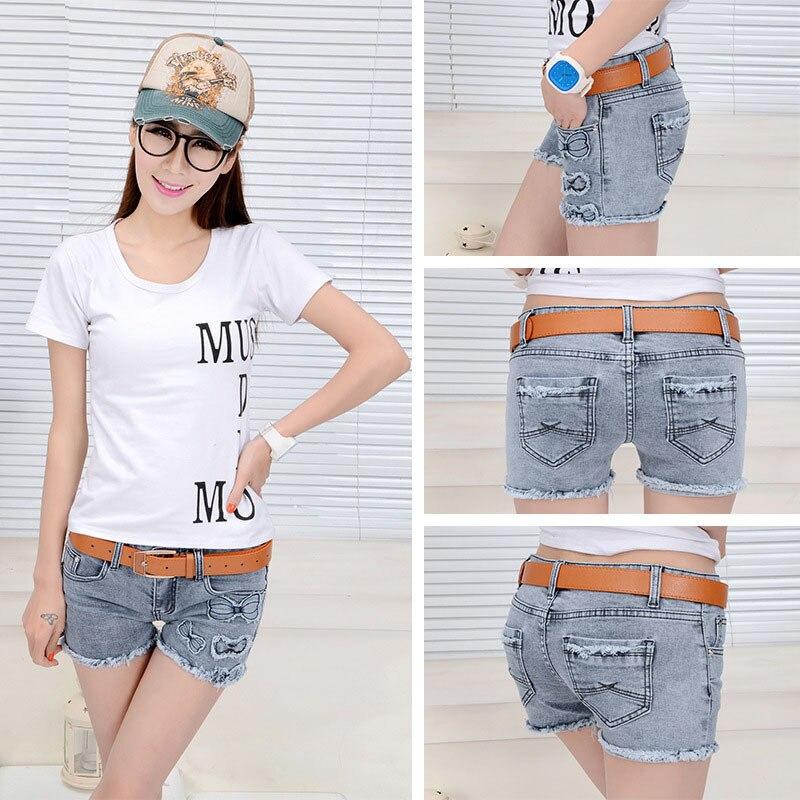 2014 Korean Summer Fashion Sexy Women Denim Shorts Girls Beach Jeans Short Women Brand Denim ...