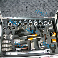 ERIKC 40 pieces of Common Rail Injector Repair tool Kits Fuel injection Disassemble Kits
