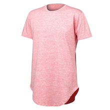 New 2018 Oversized Bodysuit Pink Fitness TShirt Streetwear Short Sleeve Cool T-shirt Men Harajuku Solid Funny T Shirt Tops A15