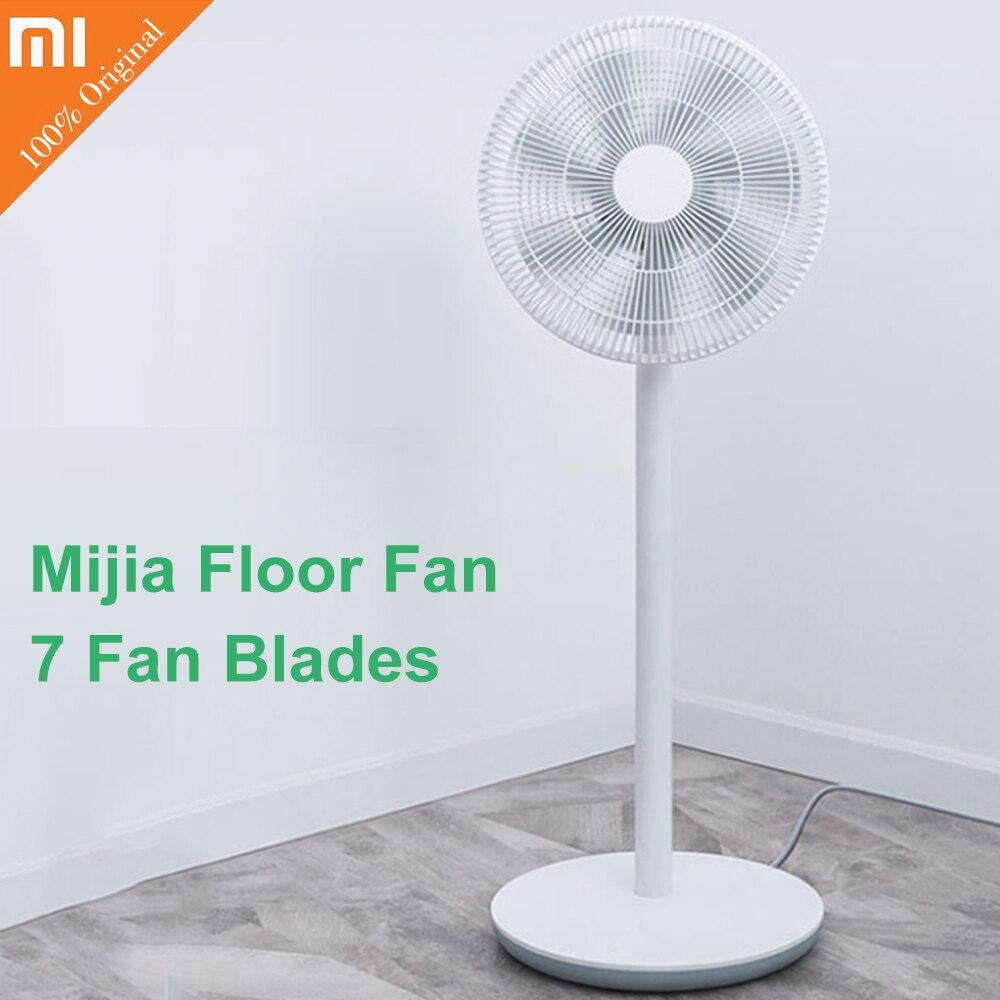 Original Xiaomi Mi Smart DC Frequency Stand Fan WiFi Phone APP Remote Control Built In Battery Wind Floor Fan with 7 Blades