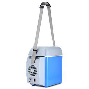Image 5 - 12v 7.5Lミニポータブルカー冷蔵庫冷凍庫多機能クーラーウォーマー熱電電気冷蔵庫自動コンプレッサー