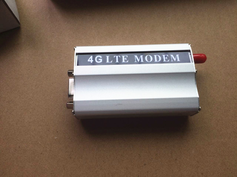 Serial port rs232 4G Modem GSM Modem 4G Lte modem support tcp/ip, data transfer, bulk sms gsm lte modem simcom modules sim7100 for sms marketing data transfer at command 4g modem