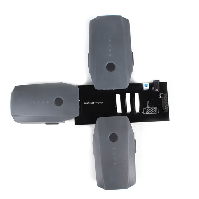 DJI Mavic Pro 3-in-1 Multi Intelligent Flight Battery Charger Parallel Charging Board Plate for Dji Mavic Pro accessories
