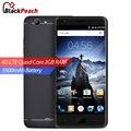 Ulefone u008 pro 4g teléfono móvil 5 pulgadas hd 1280x720 ips MTK6737 Quad Core Android 6.0 2 GB RAM 16 GB ROM Tecla de Inicio Smartphone