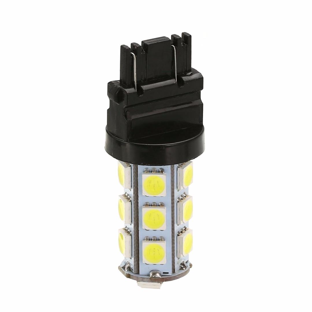 1Pair White 3157 5050 18-SMD Car Reverse Backup LED Light Fog Lamp Bulb DC12V