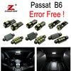 7pc X Canbus Error Free Volkswagen Passat B6 LED Interior Dome MapLight Kit Package 2006 2010
