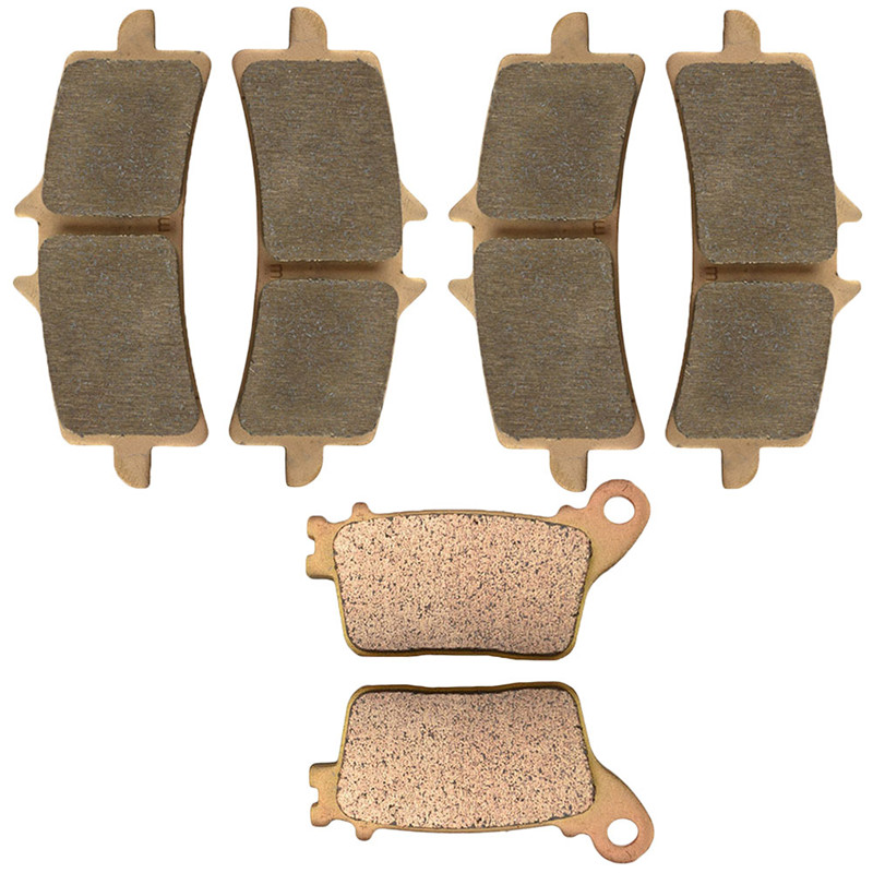 Motorcycle Front and Rear Brake Pads for SUZUKI GSXR 600 L 750 L GSX R1000 L