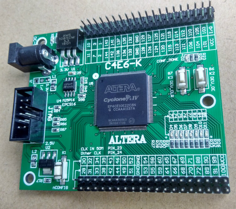 EP4CE10 altera fpga board + development