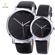Brand Pair Fashion Classic Lovers' Watch Men&Women's Anti-clockwise Quartz Wristwatch Logo Customized For Gift Unisex Watch
