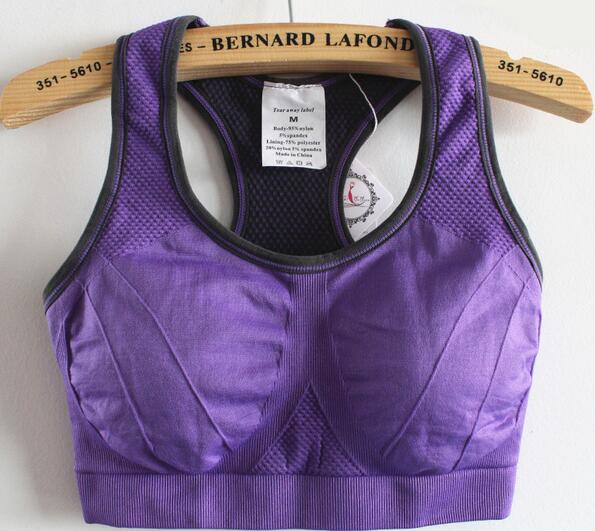 Popular Purple Sports Bras-Buy Cheap Purple Sports Bras lots from ...