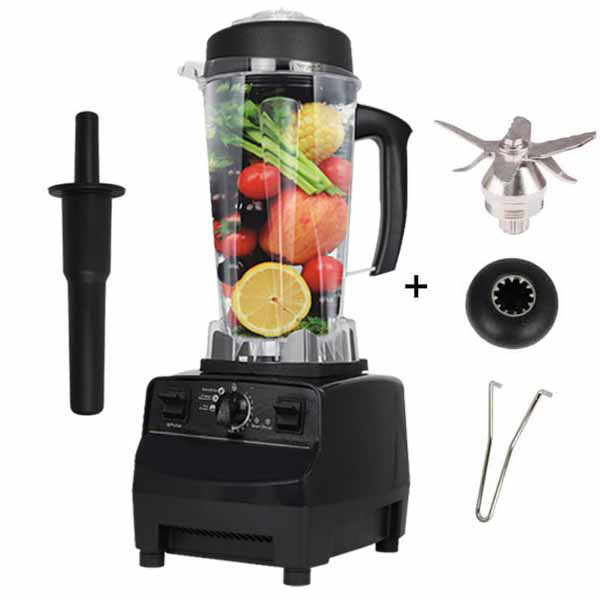 768-2S 3 Automatic Gear  Electric Blender for Kitchen Commercial blender Mixer Juicer  Smoothie Food Processor BPA Free 220V home kitchen blender 6 teeth coupling clutch gear 33mm dia 2pcs black