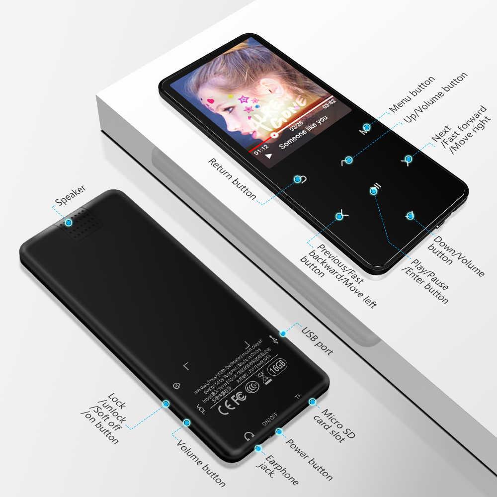 ICEICE MP3 MP4 Nghe Bluetooth ngang bằng Tai Nghe Chụp Tai màn hình cảm ứng 8 GB 40 GB Sách Điện Tử đọc FM Radio Video MP 4 MP-4 4 GB 8 GB 32 GB Máy Nghe Nhạc