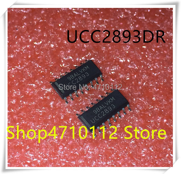 NEW 10PCS LOT UCC2893DR UCC2893D UCC2893 SOP 16 IC