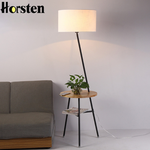 Horsten japanese nordic style floor lamp simple creative floor stand horsten japanese nordic style floor lamp simple creative floor stand light for living room sofa home mozeypictures Choice Image