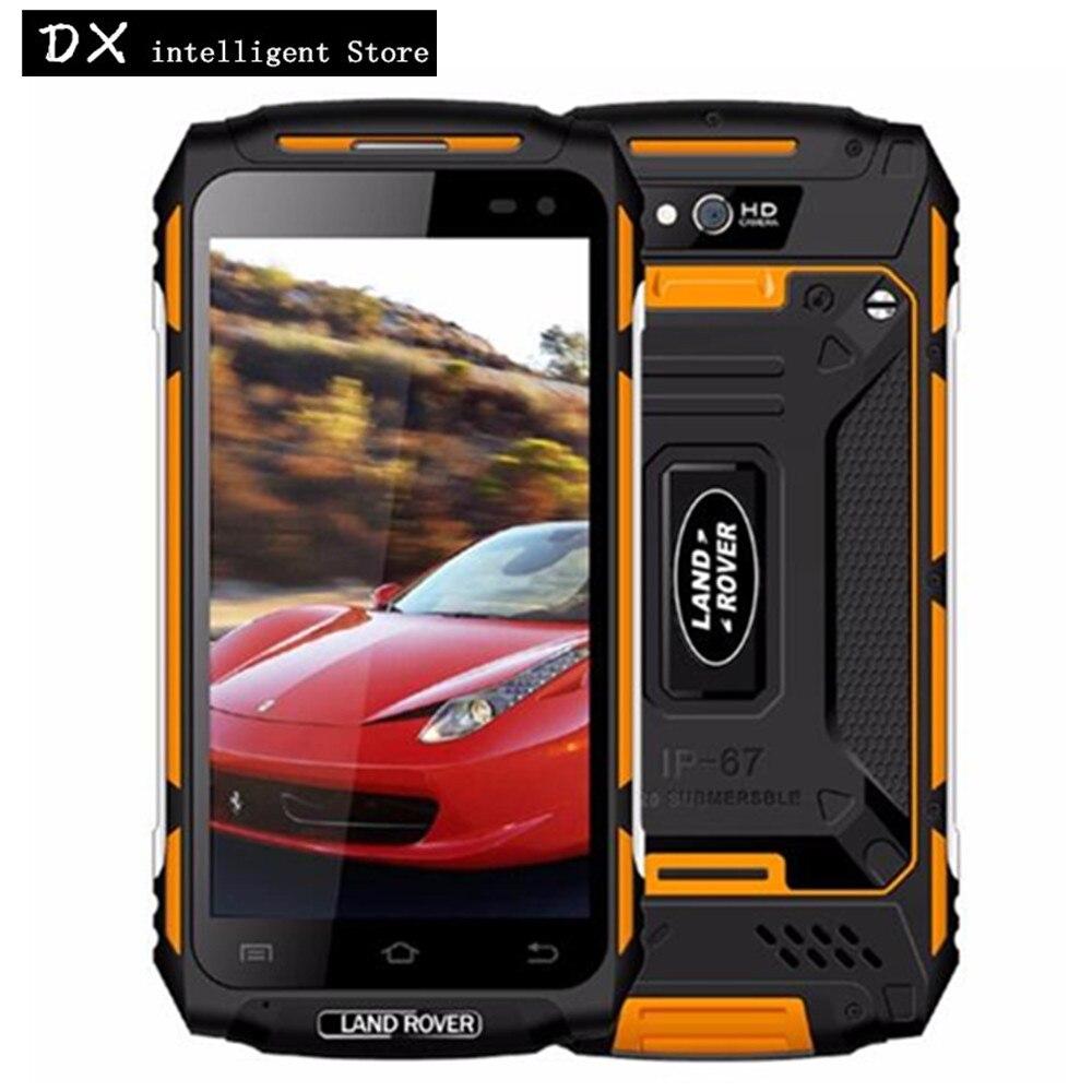 Land Rover X2 IP67 Étanche antichoc Mobile Téléphone 5.0 HD 2 GB RAM 16 GB MTK6737 Quad Core 5500 mAh Android 6.0 4G SmartPhone