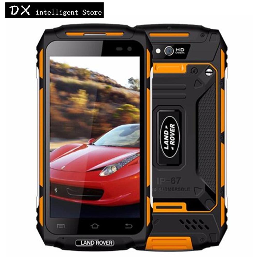 Land Rover X2 IP67 Étanche antichoc téléphone portable 5.0 HD 2 GB RAM 16 GB MTK6737 Quad Core 5500 mAh android 6.0 4G SmartPhone